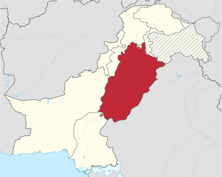 File:Punjab in Pakistan 28claims hatched29 svg.png
