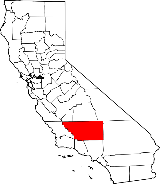 File:Map of California highlighting Kern County svg.png