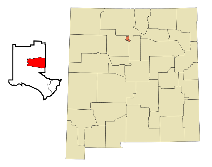 File:Los Alamos County New Mexico Incorporated and Unincorporated areas Los Alamos Highlighted svg.png