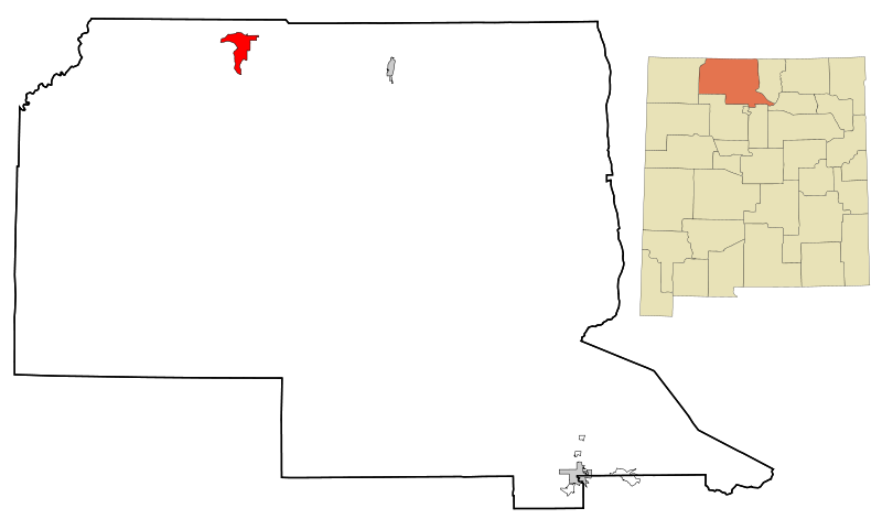 File:Rio Arriba County New Mexico Incorporated and Unincorporated areas Dulce Highlighted svg.png