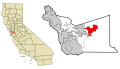 Alameda County California Incorporated and Unincorporated areas Livermore Highlighted svg.png
