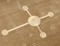 Celtic Cross Crop Circle Lurkeley Hill, near East Kennett, Wiltshire Reported 3rd August 2010.jpg