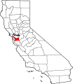 Map of California highlighting Alameda County svg.png