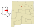 Los Alamos County New Mexico Incorporated and Unincorporated areas Los Alamos Highlighted svg.png