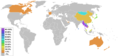Buddhism percentage by country2.png