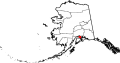 Map of Alaska highlighting Anchorage Municipality svg.png