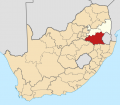 Map of South Africa with Gert Sibande highlighted (2011) svg.png