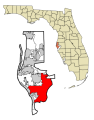 Pinellas County Florida Incorporated and Unincorporated areas St Petersburg Highlighted svg.png