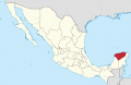 Yucatan in Mexico 28location map scheme29 svg.png